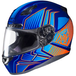 HJC Redline CL-17 Helmet MC-26-Blue/Light-Blue/Orange (Closeout)