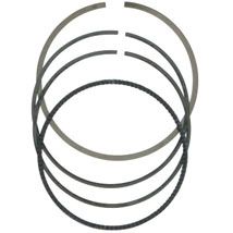 Moose Racing Replacement Ring Set for High Performance 4-Stroke Piston Kit by CP Pistons (13:1) for CRF150R 07-12