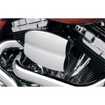 Cycle Visions Mo-Flow Billet Air Cleaner Chrome for FLHX 08-12