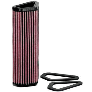 K&N Air Filter for Ducati Diavel 11-17 (DU-1007)