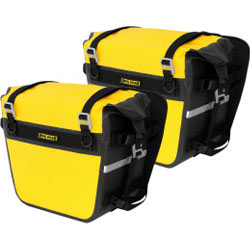 Nelson Rigg Deluxe Adventure Dry Saddlebags Yellow