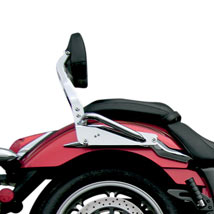 Jardine Complete Backrest/Mount Kit w/ Small Steel Backrest for VN1600 Vulcan Classic 03-08 (Closeout)