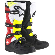 Alpinestars Men's Tech 5 Boots Black/Red/Yellow-Fluo