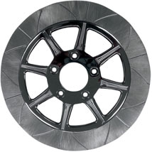"LRB Lug-Drive 11.8"" Dia. Rear Brake Rotor (Phoenix 8 Spoke) for FLHR 08-13"