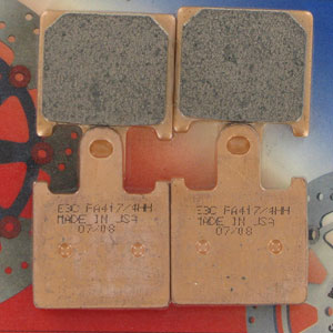 EBC HH Sintered Front Brake Pads for ZX6R 07-12