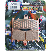 EBC HH Sintered Rear Brake Pad for FLHX 08-12