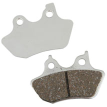 "EBC Limited Edition Chromed Semi-Sintered ""VLD"" Rear Brake Pads for FXS 08-13"