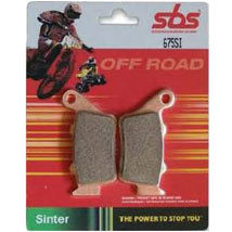 SBS Front Sintered Metal Brake Pads for 85 SX 12-15