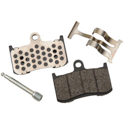 Drag Specialties Semi-Metallic Brake Pads for Crosscountry Tour 12