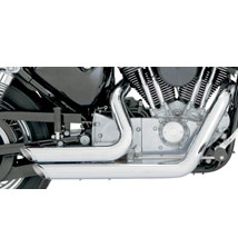 Vance & Hines Shortshots Staggered Exhaust for XL 99-03