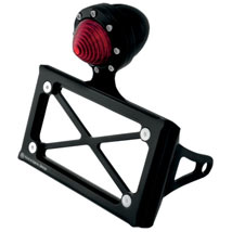 Roland Sands Design Vertical Shock-Mount Style Taillight Tag Bracket for FXD 91-13
