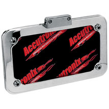 Accutronix License Plate Frame Assembly w/ LED Light