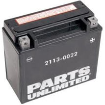 Parts Unlimited AGM (Maintenance-Free) Battery for VTX1800C/F/N/R Retro/S 02-08