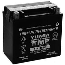 Yuasa High-Performance AGM (Maintenance-Free) Battery for GL1500 Valkyrie 97-03