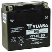 Yuasa AGM (Maintenance-Free) Battery for FZ1 01-05