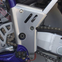 Works Connection Frame Guards for YZ250 03-04