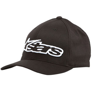 Alpinestars Blaze Flexfit Hat Black/White