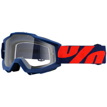 100% Accuri Goggles Raleigh-Navy