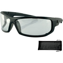 Bobster Axl Sunglasses Black/Clear