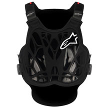 Alpinestars A-8 Light Protection Vest Black/White/Red