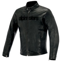 Alpinestars Men's Huntsman Leather Jacket Black (Closeout)
