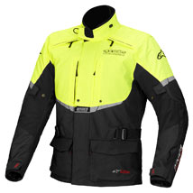 Alpinestars Andes Drystar Jacket Black/Yellow-Fluo
