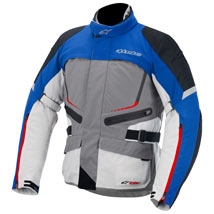 Alpinestars Valparaiso Drystar Jacket Gray/Blue/Red/Sand