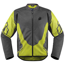 Icon Men's Anthem 2 Jacket Hi-Viz-Yellow
