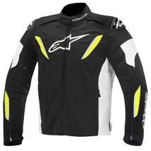 Alpinestars T-GP R Waterproof Jacket Black/White/Yellow-Fluo