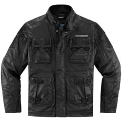 Icon 1000 Forestall Jacket Black (Closeout)