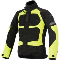 Alpinestars Santa Fe Air Drystar Jacket Black/Yellow-Fluo
