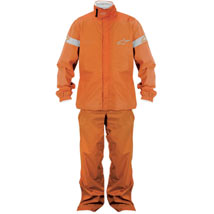 Alpinestars Quick Seal Out Jacket and Pants Orange (Closeout)