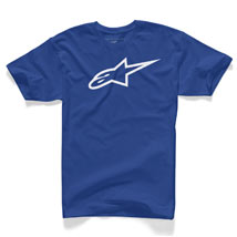 Alpinestars Ageless Short-Sleeve T-Shirt Royal/White