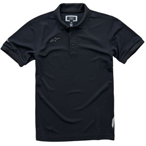 Alpinestars Men's Vortex Polo Shirt Black