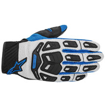 Alpinestars Atacama Air Gloves Cool-Gray/Blue (Closeout)