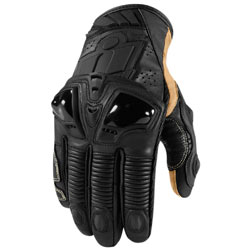 Icon Hypersport Pro Short Gloves Black