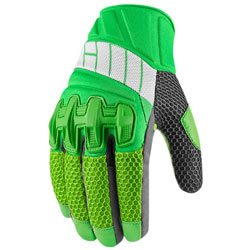 Icon Overlord Mesh Gloves Green