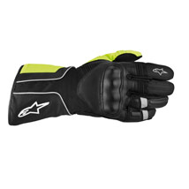 Alpinestars Overland Drystar Gloves Black/Dark-Gray/Yellow-Fluo (Closeout)