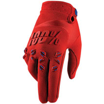 100% Airmatic Gloves Red (Closeout)