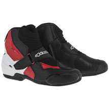 Alpinestars S-MX 1R Boots Vented-Black/White/Red