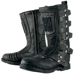 Icon Women's 1000 Elsinore Boots Johnny-Black