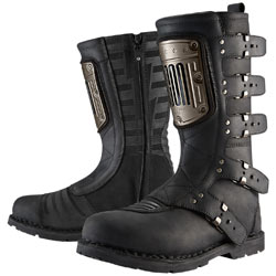 Icon Women's 1000 Elsinore HP Boots Black