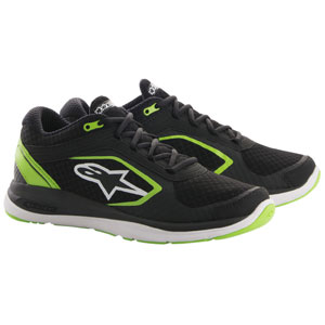 Alpinestars Alloy Shoes Black/Green