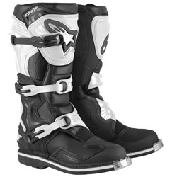 Alpinestars Men's Tech 1 Boots Black/White (Closeout)