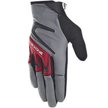 SixSixOne Rage Gloves Gray (Closeout)