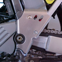 Works Connection Frame Guards for KLX400 03-04