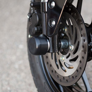 Woodcraft Front/Rear Axle Slider Kit for Grom 14-18