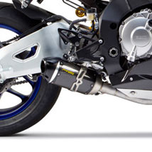 Two Brothers S1R Slip-On Exhaust for YZF-R1 15-16