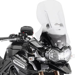Givi AF6403 Sliding Windscreen for Tiger Explorer 1200 12-16