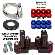BRP Rubber Mounted SUB Mount DM-SUB for TE 250 11-14